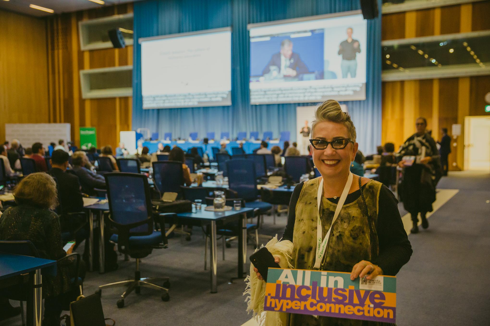 Auditório da ONU em Viena, Áustria.